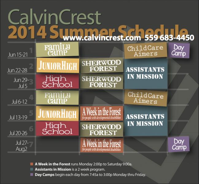 2014 Summer Schedule png