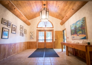 Cedar Lodge Entry